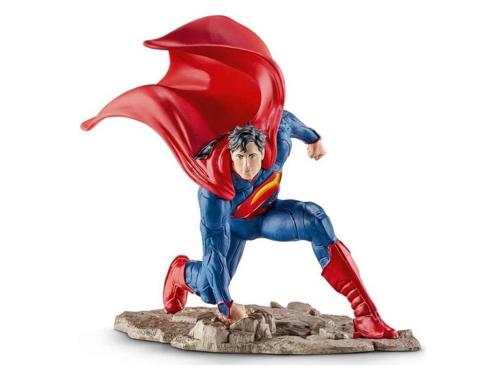 Schleich Superman klečící 22505
