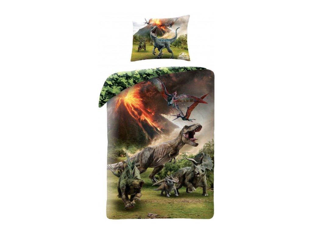Povlečení jurský park dinosauři