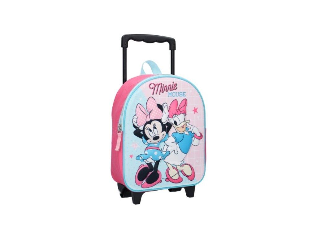 Batoh na kolečkách Minnie Mouse