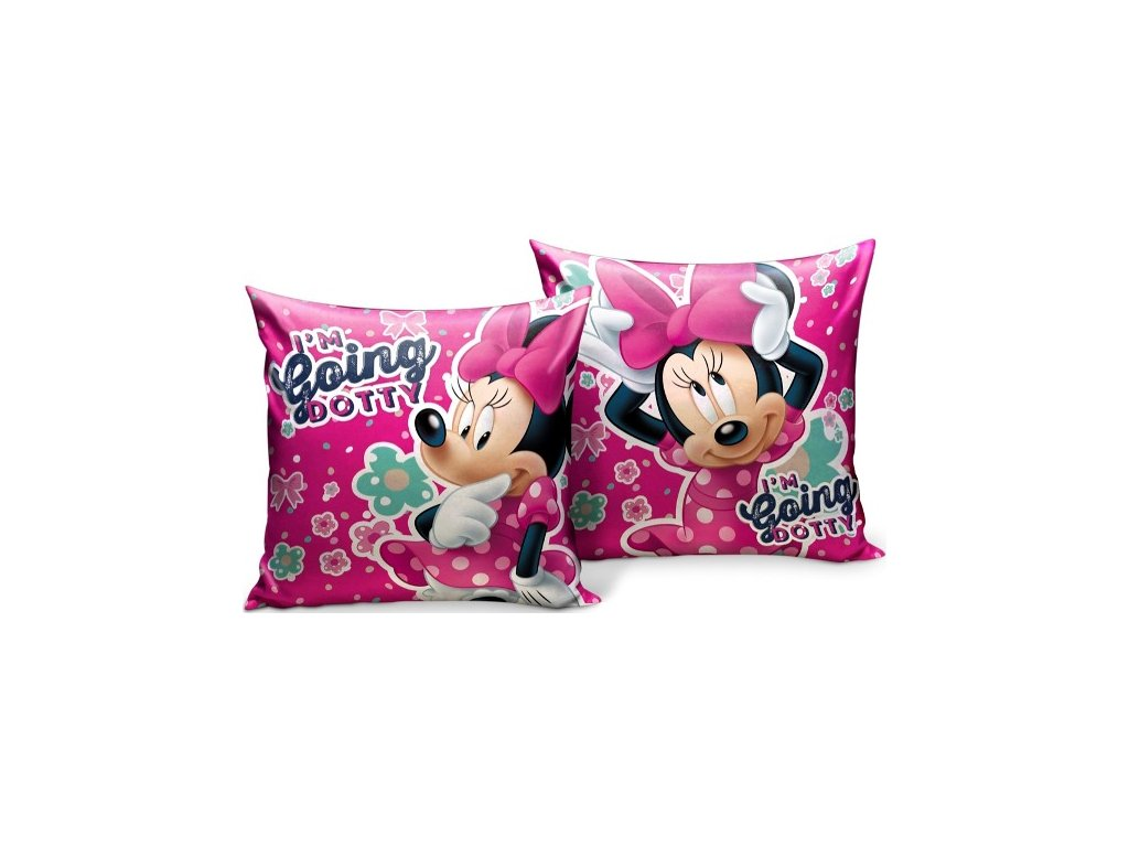 Polštář Minnie Mouse
