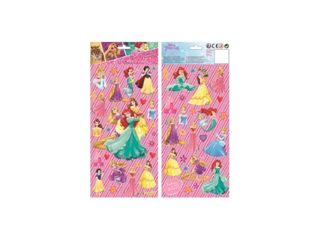 samolepky Disney Princess