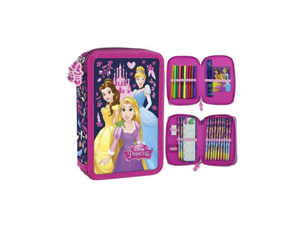 Penál Disney Princess plný