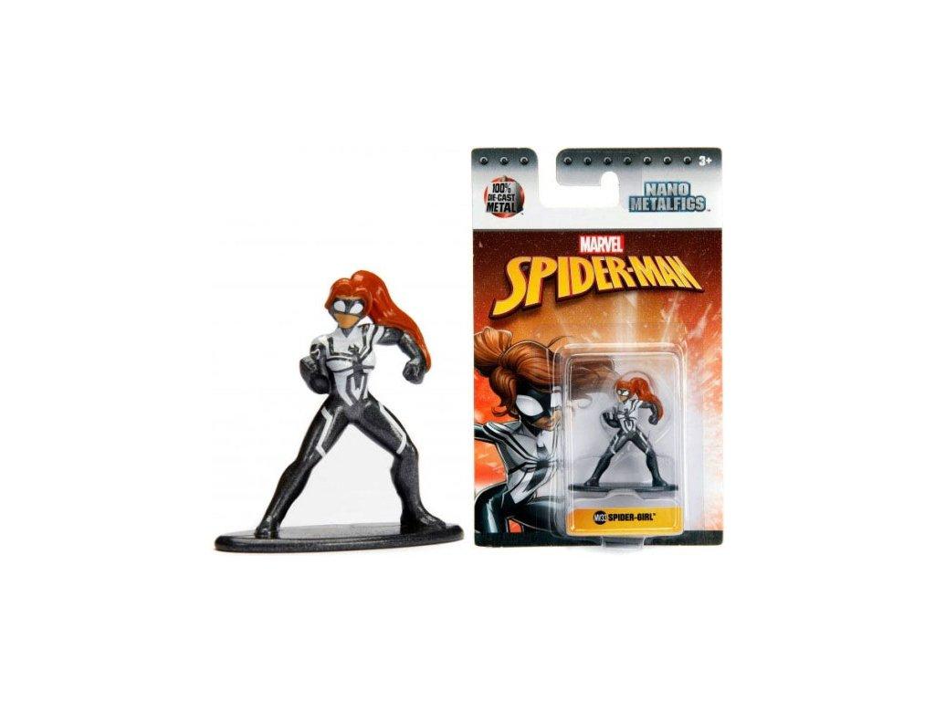Nano Metalfigs figurka Spiderman Spider-girl kovová