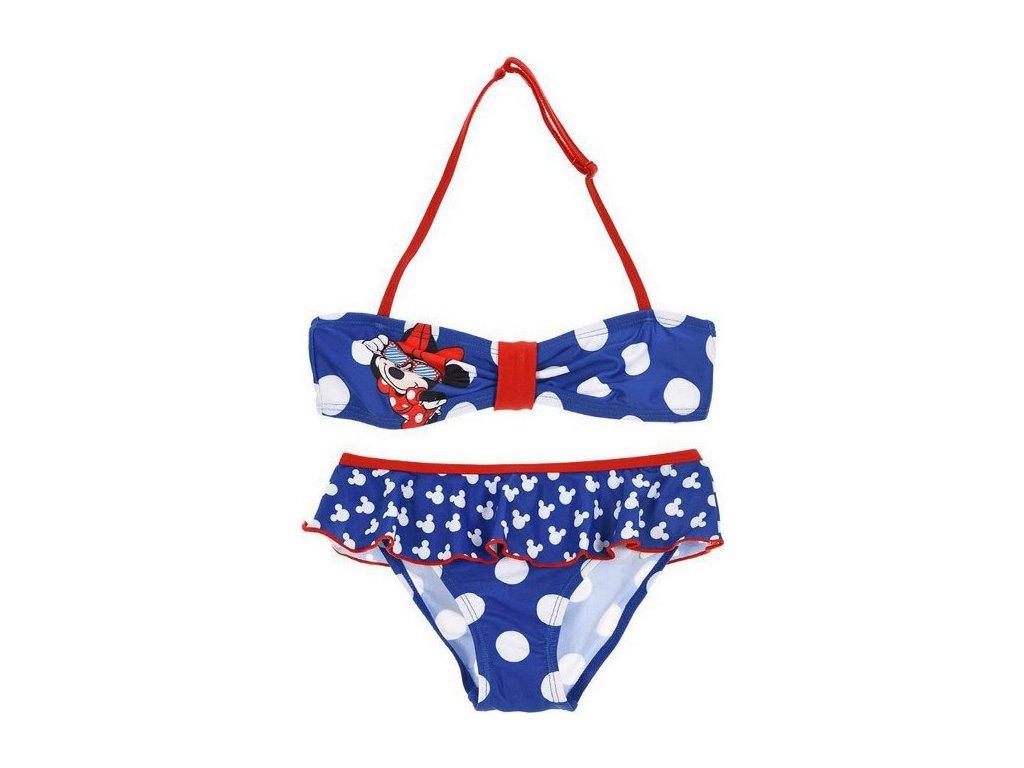 Dívčí plavky bikiny Minnie Mouse