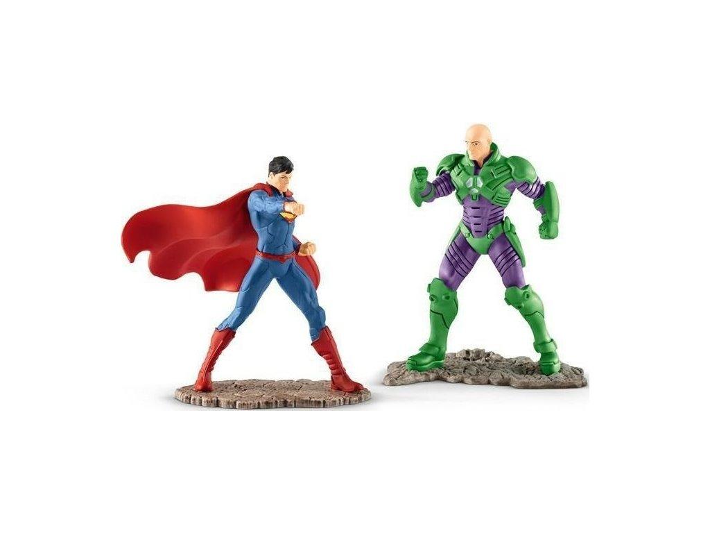 Schleich Justice League Superman vs. Lex Luthor 22541