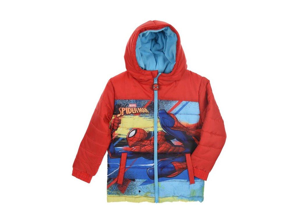 Zimní bunda Spiderman