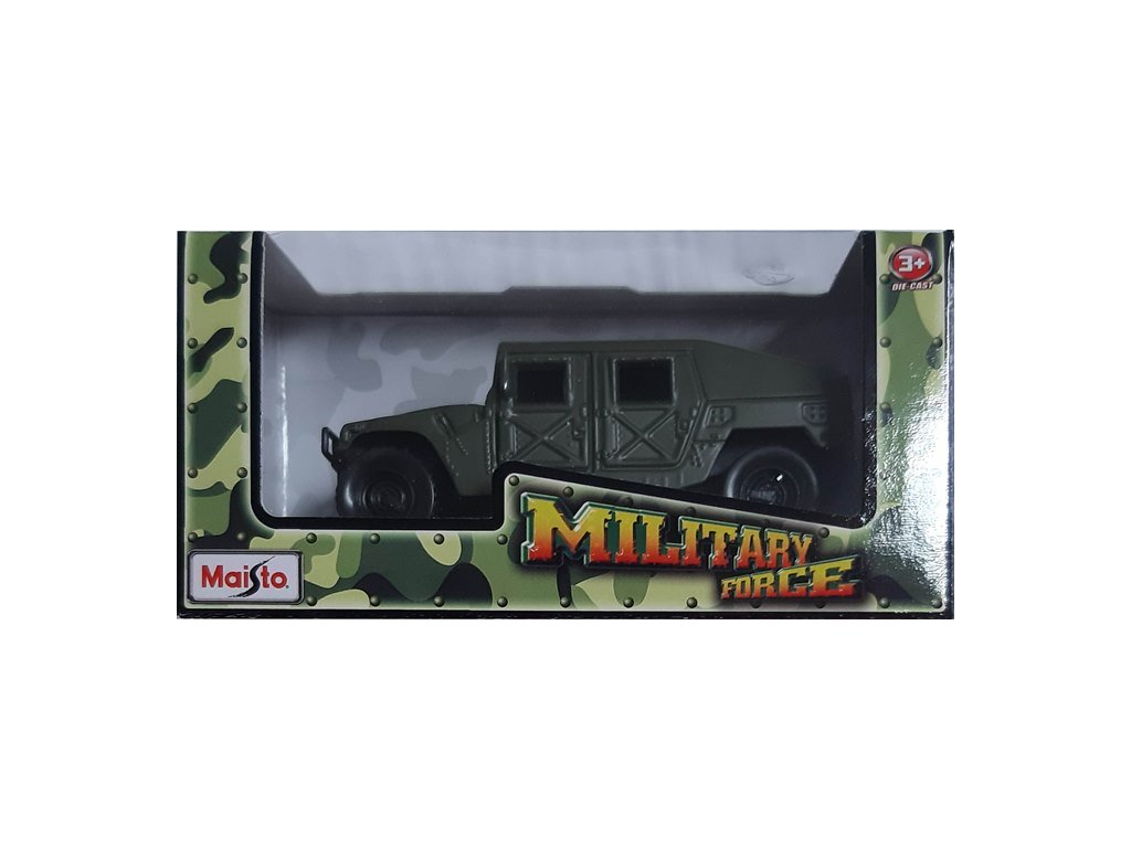 Maisto Military Force Humvee Green