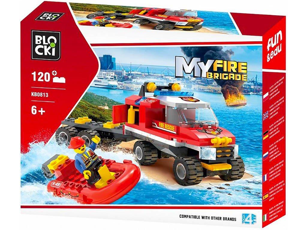 Stavebnice hasičská vodní stráž Lego