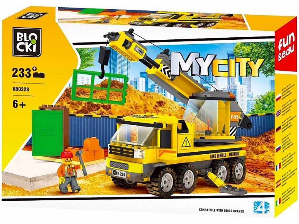 Stavebnice jeřáb Lego
