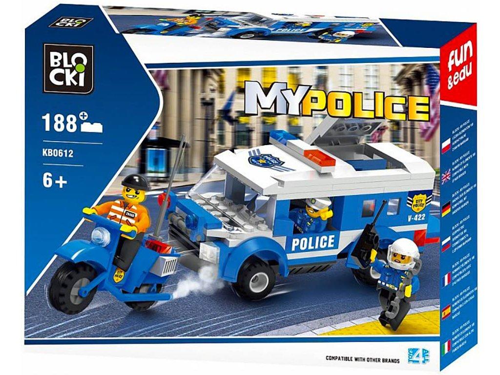 Stavebnice policie policejní pronásledování Lego