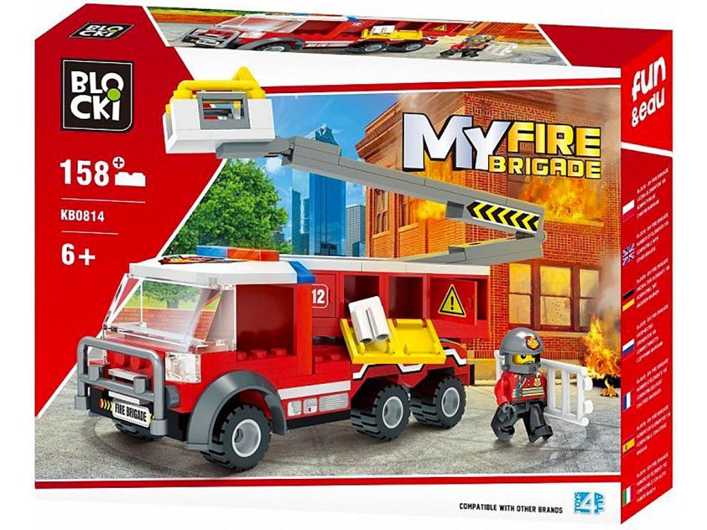 Stavebnice hasičské auto Lego