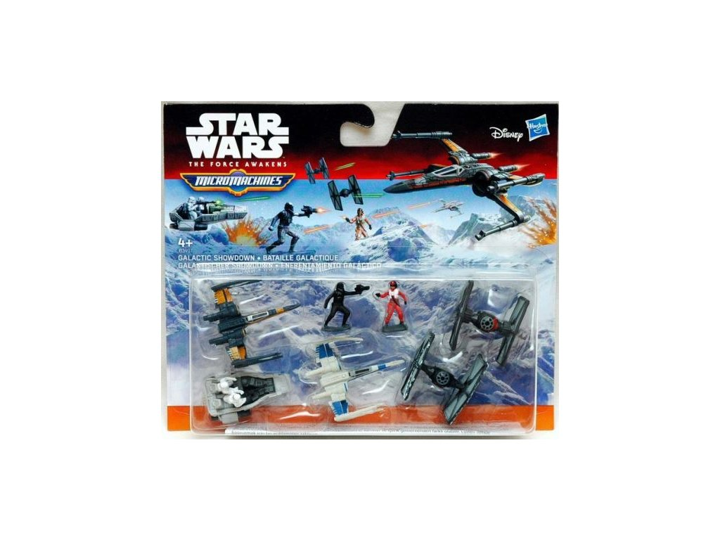 Star Wars Micromachines figurky a stroje Galactic Showdown