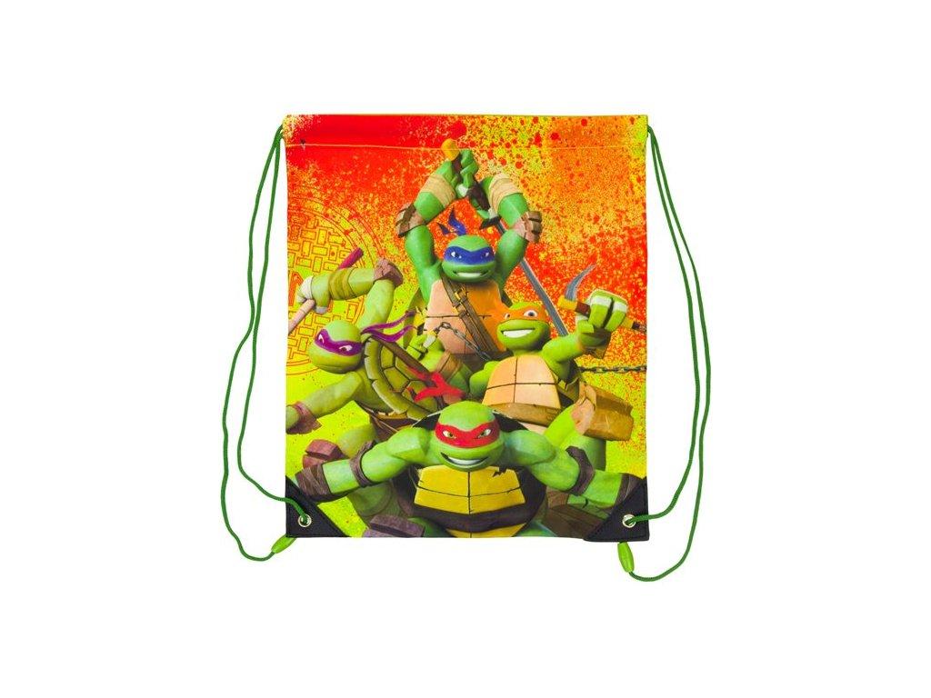Sáček na přezůvky Želvy Ninja