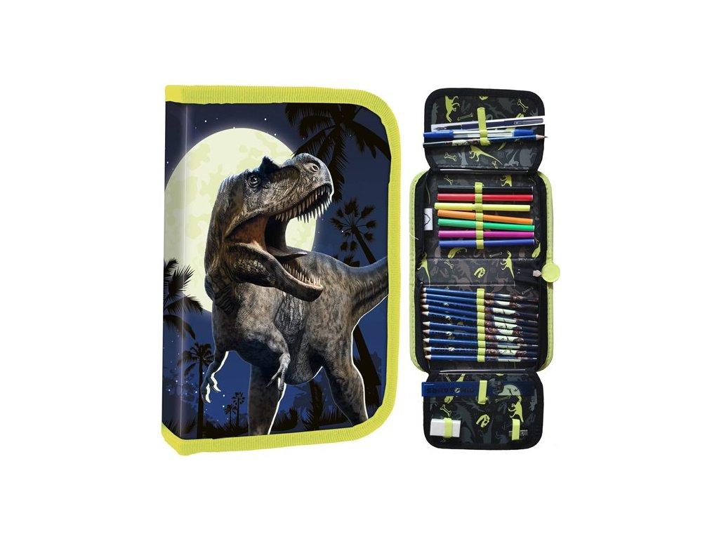 Penál Dinosauři plný