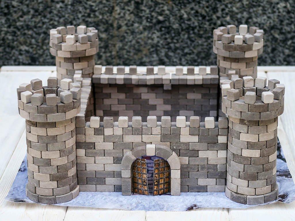 Cihličková stavebnice hrad Orlí Hnízdo