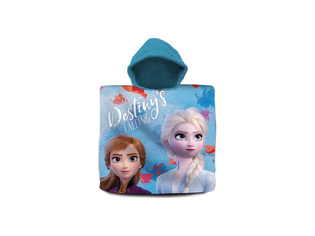 Pončo Frozen 2 Ledové království Anna a Elsa