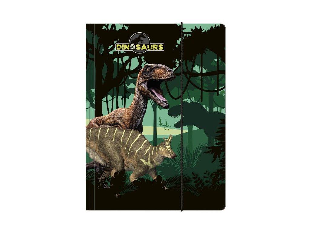 Desky na sešity Dinosauři