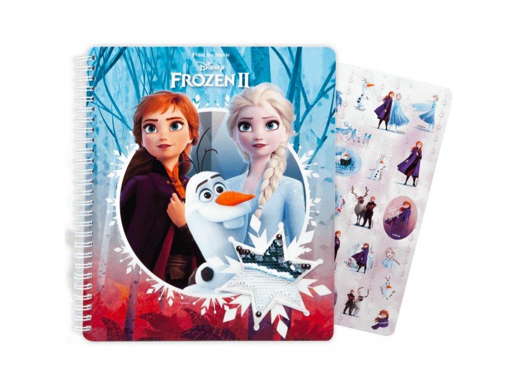 Kroužkový blok Frozen