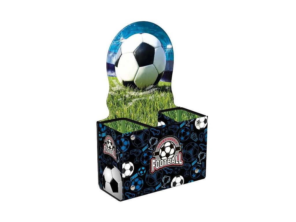 Stojánek na psací potřeby Fotbal
