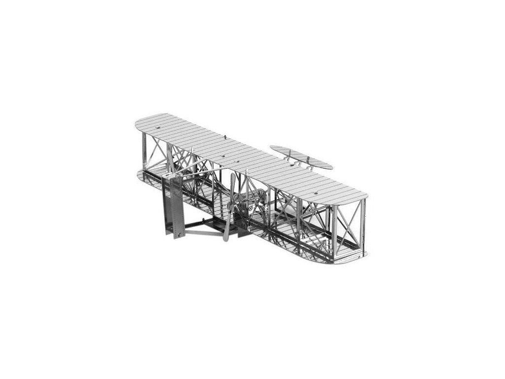 Metal Earth 3D puzzle kovový Letadlo bratří Wrightů