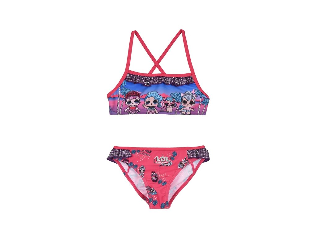Dívčí plavky bikiny LOL Surprise