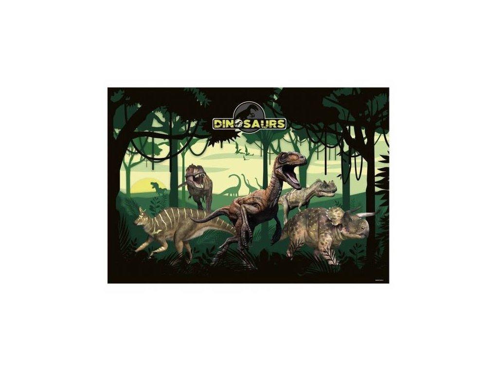 Podložka na kreslení a psaní dinosauři