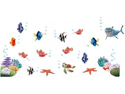 Samolepka na zeď Nemo Dory