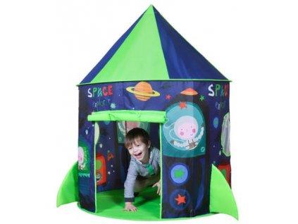 Dětský hrací stan raketa