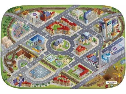 Hrací koberec Ultra Soft Město