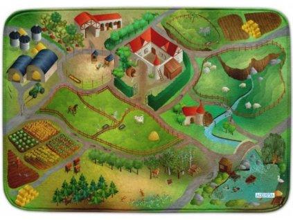 Hrací koberec Ultra Soft Farma