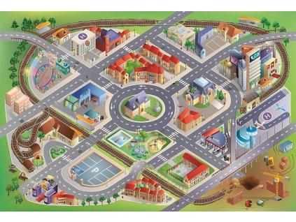 Hrací koberec Město