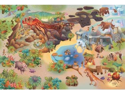 Hrací koberec Dinosauři