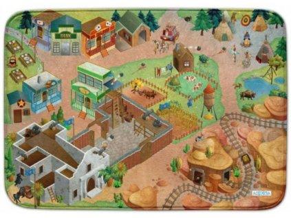 Hrací koberec Ultra Soft Divoký západ
