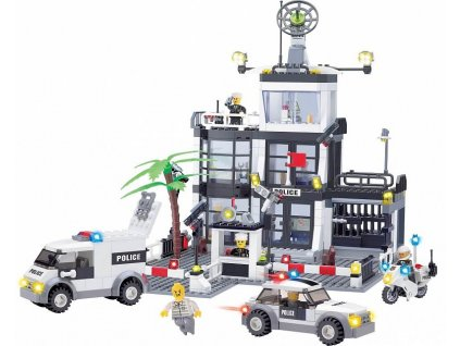 Stavebnice policejní stanice Lego
