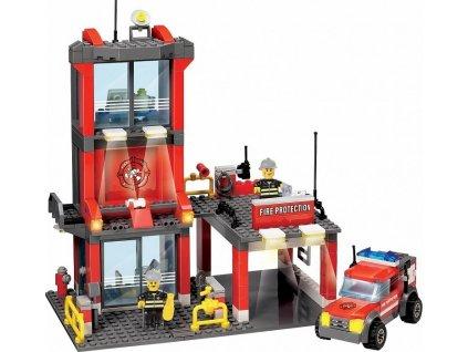Stavebnice hasičská stanice