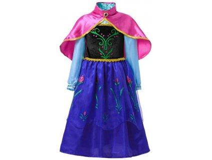 Kostým, šaty Frozen Anna