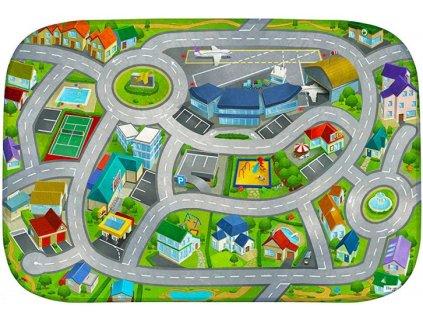 Hrací koberec Ultra Soft Letiště