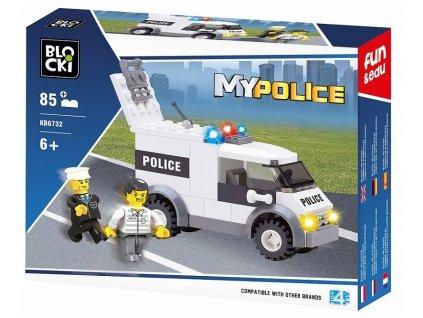 Stavebnice policejní anton Lego