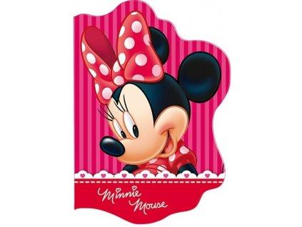 Tvarovaný notýsek Minnie Mouse