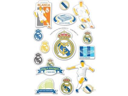 3D samolepky Real Madrid