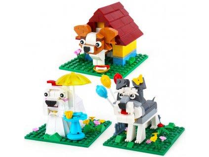Lego stavebnice pejskové