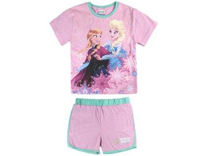 Dětský komplet Frozen tričko a kraťasy