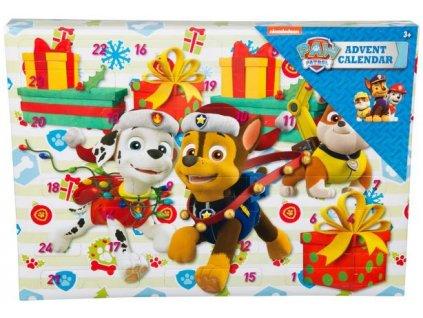Adventní kalendář Paw Patrol Tlapková Patrola