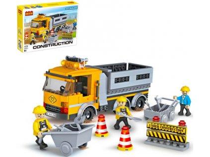 Lego stavebnice dálniční opravy