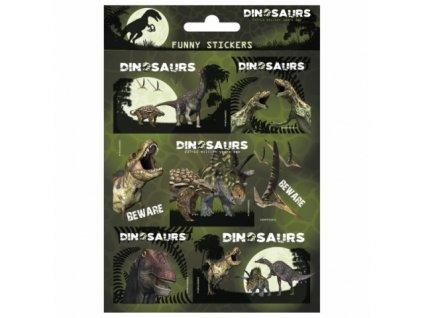 Dětské samolepky Dinosauři