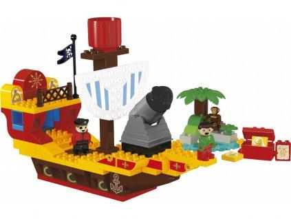 Stavebnice Lego Duplo piráti pirátská loď