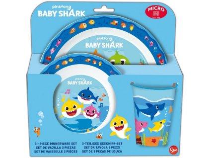 Jídelní sada Baby Shark