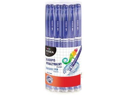 Kuličkové pero gumovatelné
