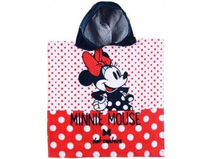 Pončo Minnie Mouse