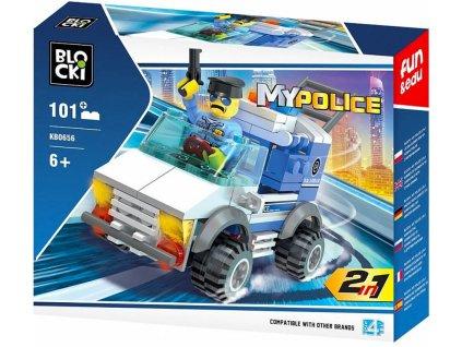 Stavebnice Policie policejní vůz Lego